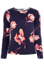 Supersoft Printed Roundneck Jumper