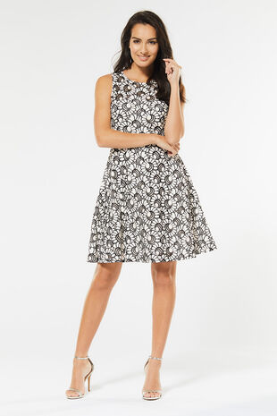 Izabel Fit and Flare Dress