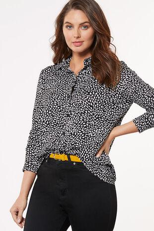 Dash Print Jersey Shirt