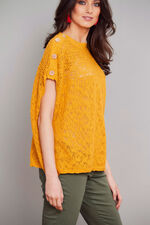 Join Us Button Shoulder Jumper