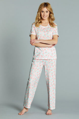 Heart Print Gift Wrapped Pyjama Set