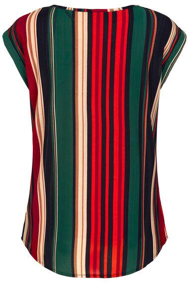 Izabel Stripe Shell Top
