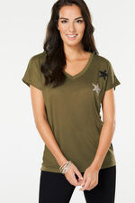 Stella Morgan Star Applique T-Shirt