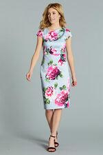 Asymmetric Neckline Shift Dress