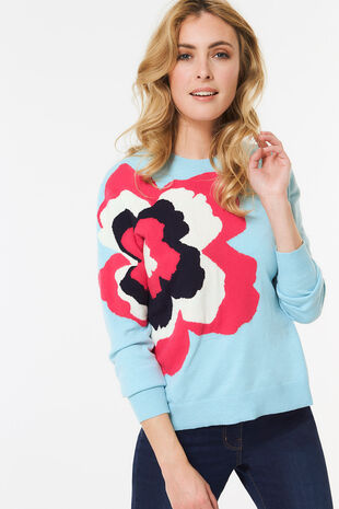 Statement Floral Jumper