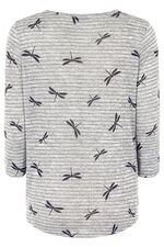 Dragonfly Printed T-Shirt