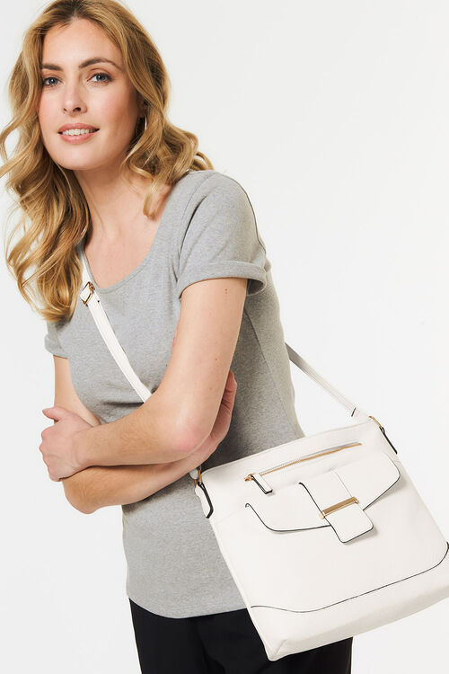 Structured Cross Body Bag