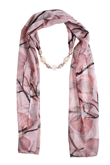 Muse Pretty Beaded Scarf
