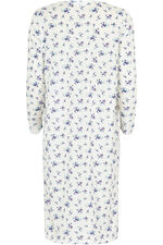 Long Sleeve Floral Nightdress
