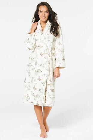 Shawl Collar Dressing Gown