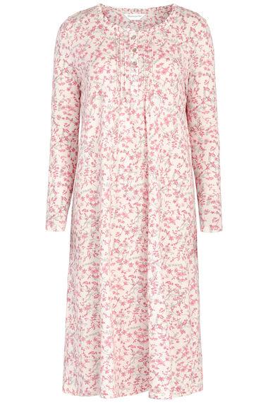 Pink Sprig Floral Nightdress