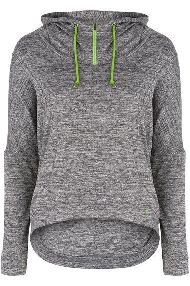 NVC Activewear Loose Fit Cropped Hoodie