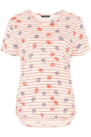 Royal Crown Print T-Shirt