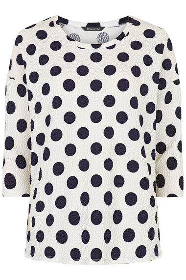 Textured Bubble Spot T-Shirt
