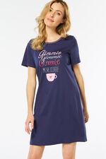 Coffee Slogan Nightdress