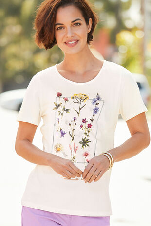 Botanical Floral T-Shirt