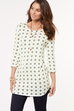 Tile Printed Tunic