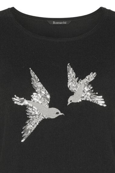 Bird Sequin Jumper