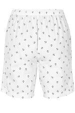 Anchor Print Essential Cotton Shorts