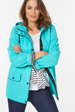 Shower Resistant Rubberised Parka