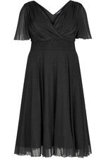 Scarlett & Jo Baby Lollidot Angel Sleeve Midi Dress