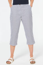 Brushed Cotton Crop Trousers