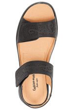 Cushion Walk Double Strap Touch Fasten Sandal