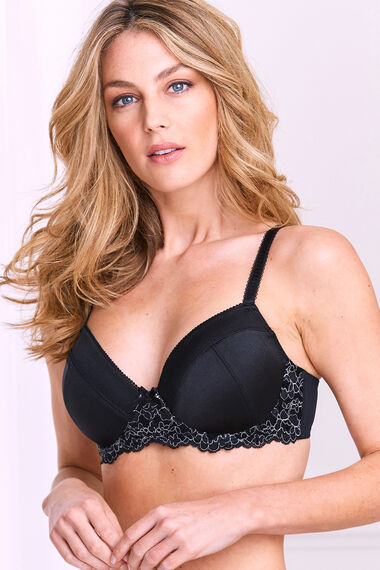 Lace Cradle Padded Underwired Bra