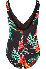 Tropical Knot Front Swimsuit