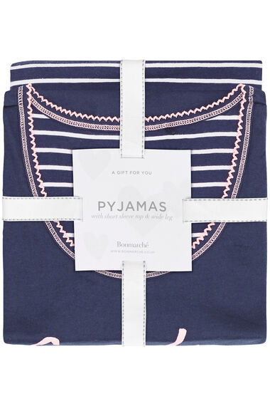 Stripe Gift Pyjama Set