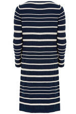 Rope Stripe Detail Knitted Dress