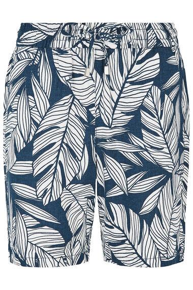 Mono Palm Linen Blend Short