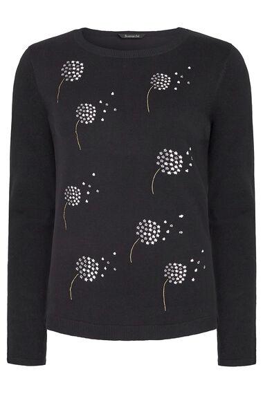 Dandelion Embroidered Jumper