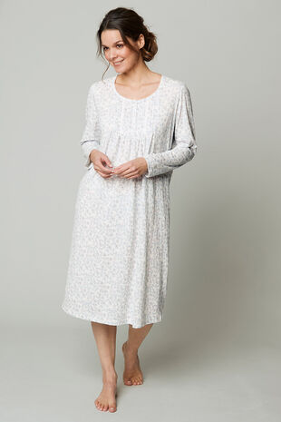 Sketchy Floral Nightdress