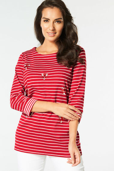 Embellished Stripe Tunic