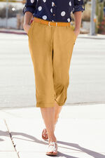 Brushed Cotton Crop Trouser