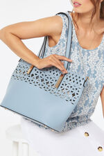 PL Handbags 2-in-1 Laser Cut Tote