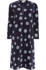 Fleece Snowflake Nightdress