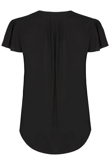 Pintuck Sleeve Blouse