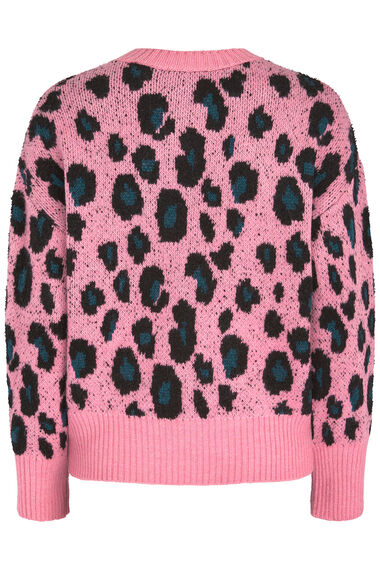 Join Us Animal Pattern Crew Neck Jumper