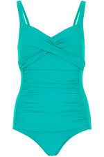 Wrap Ruched Front Swimsuit