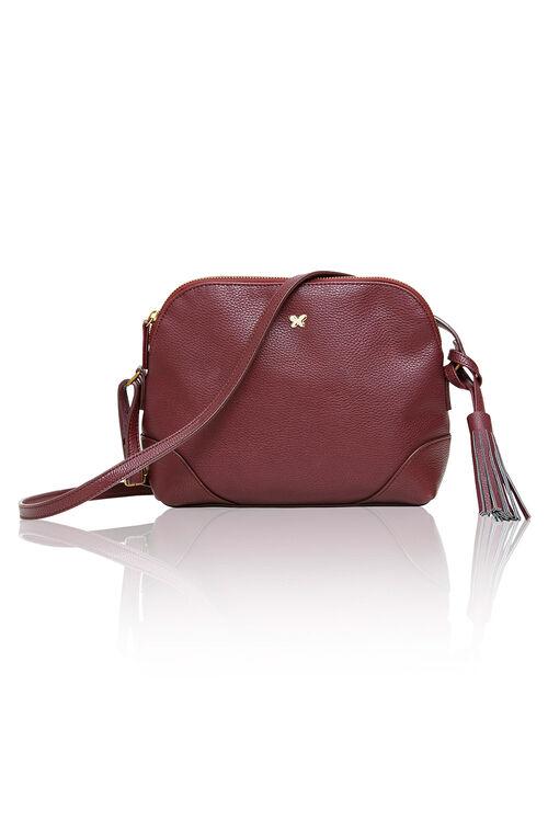Cross Body Bag with Tassel