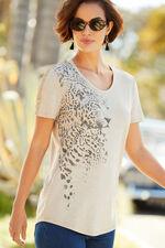 Leopard Placement T-Shirt