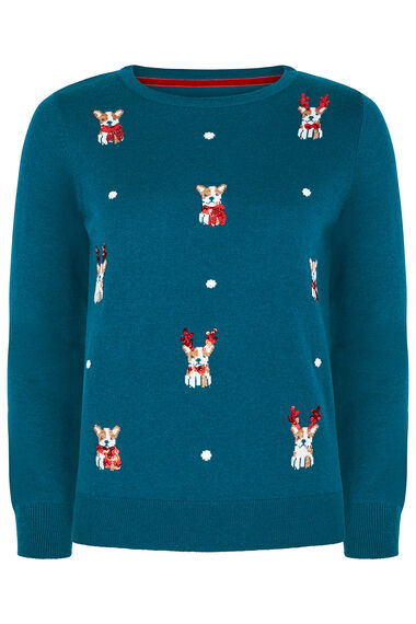Mini Dogs Christmas Jumper