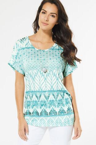 Tribal Stripe T-Shirt