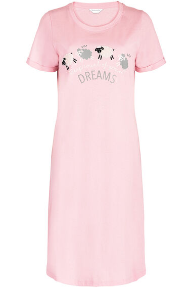 Short Sleeve Sheep Nightdress