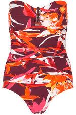 Jewel Detail Bandeau Swimsuit
