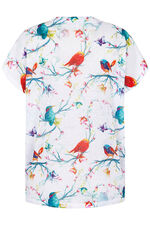 Stella Morgan Bird Print Top