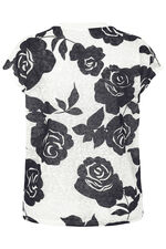 Stella Morgan Rose Printed Top