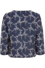 Striped Floral Jacket